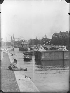 Amstelsluizen, Amsterdam 1890. Foto: Jacob Olie