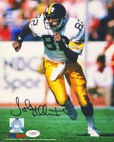 760d91809 John Stallworth Autographed Pittsburgh Steelers 8x10 Photo (White) - JSA COA