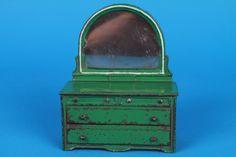 Vintage 1928 Arcade 692 B cast iron doll house dresser ORIGINAL ARCADE STICKER | eBay