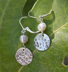 Angela Martin Designs | custom handmade and hand-stamped metal jewelry | Earrings