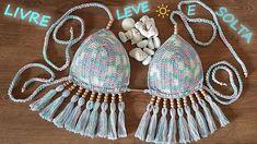 Tie Dye, Crochet Bikini Top, Beach Attire, Lana, Crochet Rugs, Bikinis, Patterns, Shop, Fashion