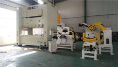 Decoiler straightener NC servo feeder machine 3 in 1 is in our client factory. | Vanessa Fang | Pulse | LinkedIn