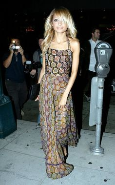 Nicole Richie. One of my fashion inspirations.