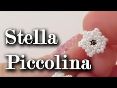 "Tutorial orecchini ""Stellina"". Collaborazione con Perlinegioielli.it - YouTube"