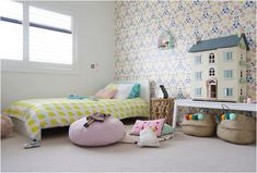 10 Habitaciones infantiles con cestas de mimbre | Decoideas.Net