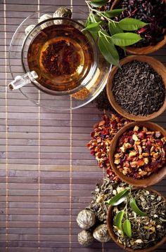 DIY tea time - detox your body with homemade tea