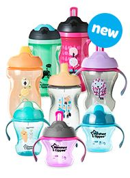 Check out the new line of training cups from Tommee Tippee-All the Thrills without the Spills! #ThirllsNotSpills #TommeeMommee