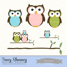 valentine's day owl clip art
