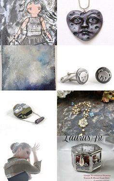 Stuning gray by Elena Doniy on Etsy--Pinned with TreasuryPin.com