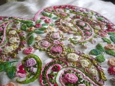 рококо роза вышивка: 15 тыс изображений найдено в Яндекс.Картинках