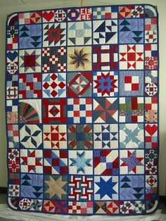 I love these album quilts