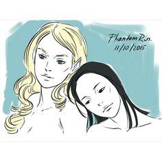 Helen and Aline