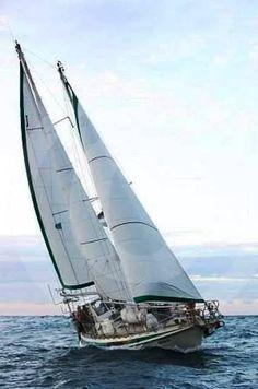 2003 Reinke Super Secura 8m Steel Schooner Sail Boat For Sale -