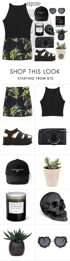 """RM: JIMIN you got no jams!  JM: RM you got no abs!😷"" by enjoyyourlifee ❤ liked on Polyvore featuring Proenza Schouler, MM6 Maison Margiela, Fujifilm, Byredo, L'Objet and Lux-Art Silks"