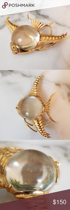 I just added this listing on Poshmark: Vintage Cathe Jelly Belly Fish Brooch. #shopmycloset #poshmark #fashion #shopping #style #forsale #Vintage #Jewelry