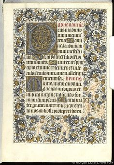 Book of Hours, MS M.854 fol. 96r - Images from Medieval and Renaissance Manuscripts - The Morgan Library & Museum
