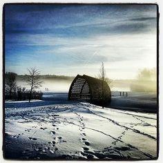 Misty morning in Helsinki