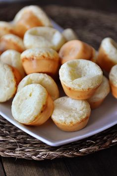 Brazilian Cheese Bread {Pao de Queijo} - I had this for the 1st time at a Brazilian Steak House the night before Halloween & could have bypassed everything else for this. It was AMAZING!!!