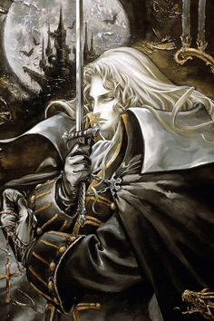 Alucard ~ Castlevania. I absolutely love Alucard. He is my favorite Castlevania character.