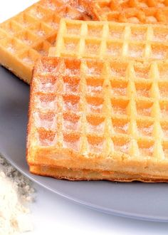 Waffle recipe: the best recipe - Waffles: the best recipe - Waffle Recipes, My Recipes, Sweet Recipes, Beignets, Crepes And Waffles, Pancakes, Desserts With Biscuits, Galletas Cookies, Chicken Wing Recipes