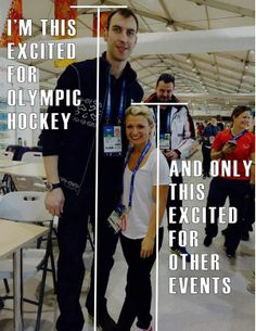 This much for hockey! Can we also appreciate  the background dudes photobomb face? #Creepay