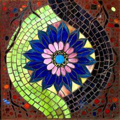 23A Fifth Chakra - Vishudda, Mosaic Labyrinth, 23A - 30/52