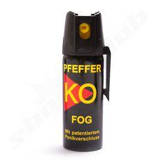 Pfefferspray KO Fog von Ballistol 50ml mit 11 % OC - Sprühnebel mit 4m Reichweite