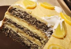 Tart Recipes, Dessert Recipes, Poppy Cake, Hungarian Recipes, Cakes And More, Food To Make, Healthy Snacks, Mousse, Food And Drink