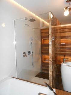 Our references - glass shower wall Naše referencie - sklenená sprchová stena #glass #wall #glasswall #shower #sprcha