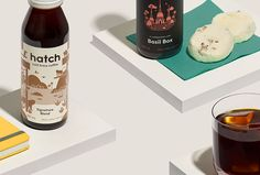 Picture of 6 designed by Tung for the project Hatch Cold Brew. Published on the Visual Journal in date 27 October 2016