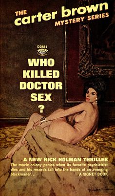 Who Killed Doctor Sex? by McClaverty, via Flickr