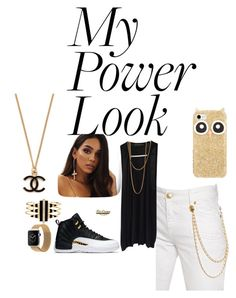 """My Power Look"" by chairityj-1 ❤ liked on Polyvore featuring Pierre Balmain, Kate Spade, Alexandre Vauthier, Noir Jewelry and Steve Madden"