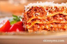 Skinny Slow Cooker Lasagna