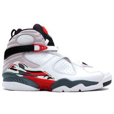 promo code 42e08 bd3da 305381-103 Air Jordan 8 Retro White Hyper Blue-True Red-Flint Grey