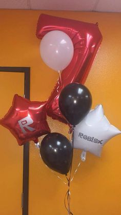 Roblox inspired party favor cups banner bags and balloons