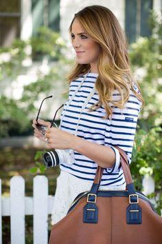 Nautical Street Style Chic