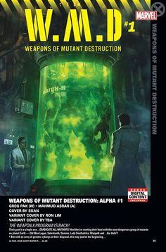EL PROGRAMA ARMA X ESTÁ DE REGRESO! Su objetivo es simple ... ERRADICAR A TODOS LOS MUTANTES! Y están comenzando su caza con el grupo más peligroso de mutantes. En el planeta Tierra Old Man Logan Sabretooth Domino Lady Deathstrike Warpath y ... el Hulk ?!  Pero con un ejército de cyborgs genéticos a su disposición esto puede ser sólo el comienzo ... - http://ift.tt/1HQJd81