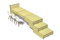 Pallet meubels kopen van duurzame blank vurenhouten pallets