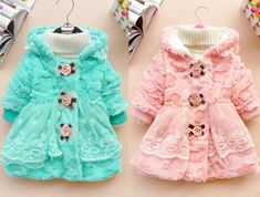 Toddler Kids Baby Girl Faux Fur Coat Outwear Warm Fleece Winter Jacket Snowsuit #Unbranded #Coat #Everyday