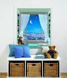 I love this ... window mural!
