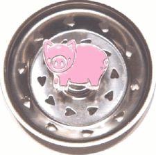 Enamel Kitchen Strainer Pig Pig Kitchen, Kitchen Stuff, Kitchen Sink Strainer, Pig Crafts, Piggly Wiggly, Pig Pen, Baby Pigs, This Little Piggy, Flying Pig