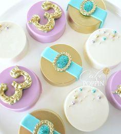 Princess Jasmine Oreos  Aladdin desserts Princess Jasmine desserts