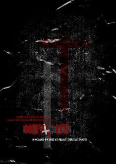 """Movies poster and logo design for horror movie """"Now Us"""" - Poster e design do logo do filme de Terror """"agora nós"""""""