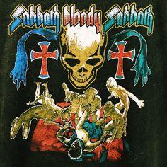 Hustle & the Vixen x Black Sabbath Graphic Tee