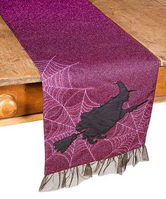 Another great find on #zulily! Witching Hour Halloween Table Runner #zulilyfinds
