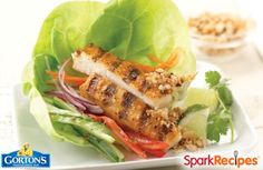 Thai Style Tilapia Wraps Recipe via @SparkPeople