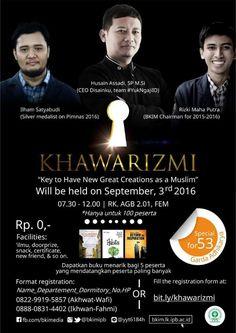 KHAWARIZMI [EVENT]