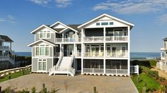 Ain't Misbehavin' Oceanfront Home in pine-island Corolla - Expanded to 9 bedrooms along with family living spaces on all floors, this home underwent a complet This rental has a private pool, an elevator, and a pool table among many other amenities. Click here for more.