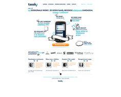 Application website v2. by Piotr Kazmierczak, via Behance
