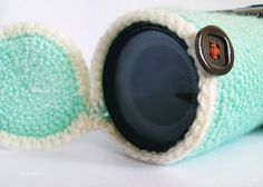 free crochet pattern camera lens cover